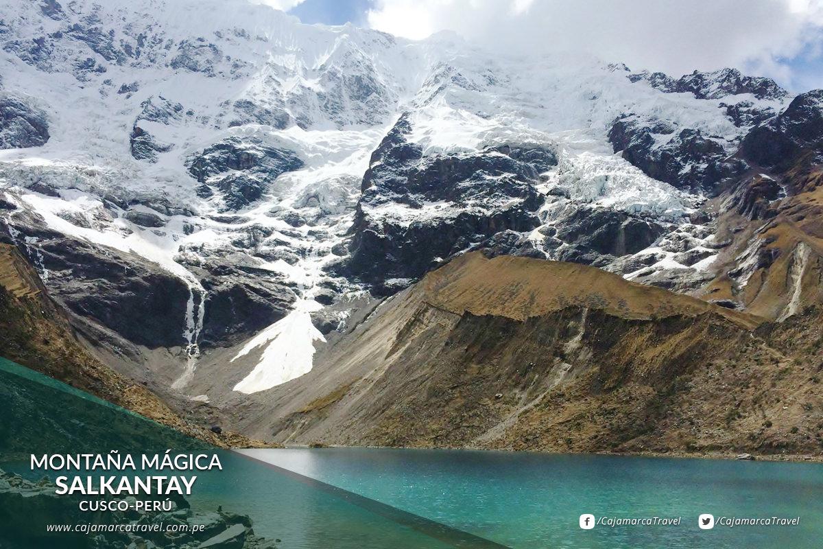 """El Salkantay o """"Montaña Mágica"""" a 6.271 m.s.n.m."""