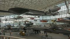 Lockheed M-21 Blackbird & Drone, Lockheed Martin RQ-3A Dark Star, Douglas DC-3 (top)