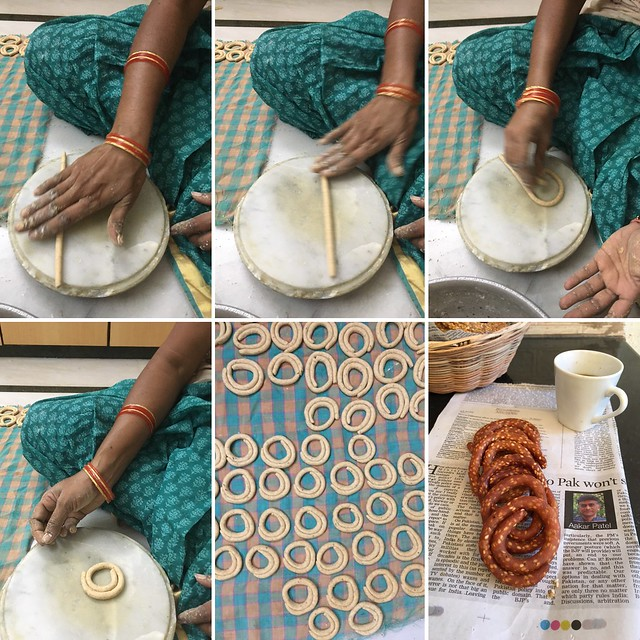 Chegodi, Telangana Food, Telangana Cuisine, Telugu Food, Indian Food, South Indian Food, Blogging Marathon, Journey Through the Cuisines, A-Z Challenge, A-Z Telangana Cuisine, Indian Snacks, South Indian Snacks, Palaharam,