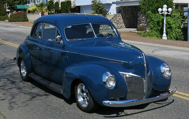 1940 Mercury Eight Sedan-Coupe