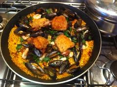 cod paella