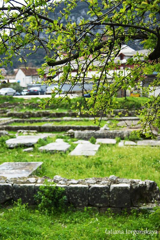 Вид на руины