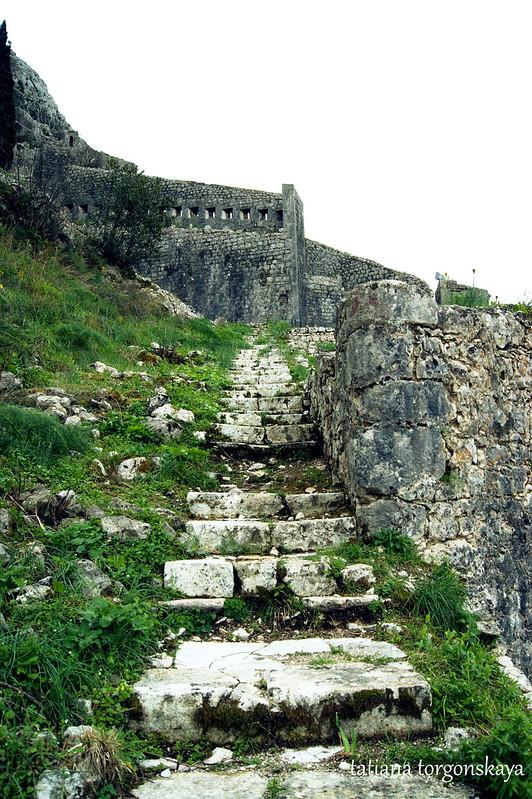 Лестница в укреплении