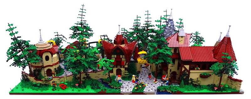 LEGO Park MOC - The People of Laaf