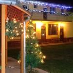 Die Festbeleuchtung im Heimathaus