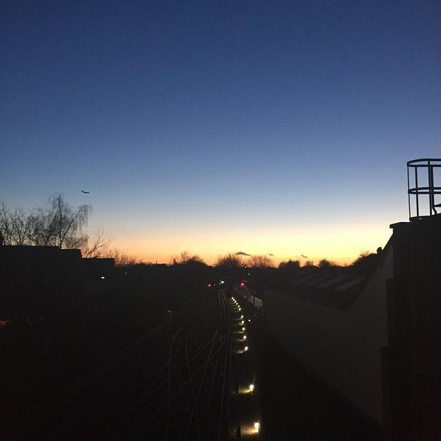 Sunset, Boston Manor