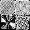 A buncha bijou tiles #zentangle #art #arttherapy #drawing #blackandwhite #penandink #illustration #ink #creative #freehand #handdrawn #zenart #zenhenna #CZT18 #CZT #certifiedzentangleteacher #pattern #doodlegalaxy #art_we_inspire #art_empire #artistic_sha