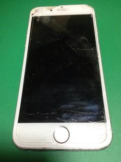 29_iPhone6のフロントパネル液晶割れ