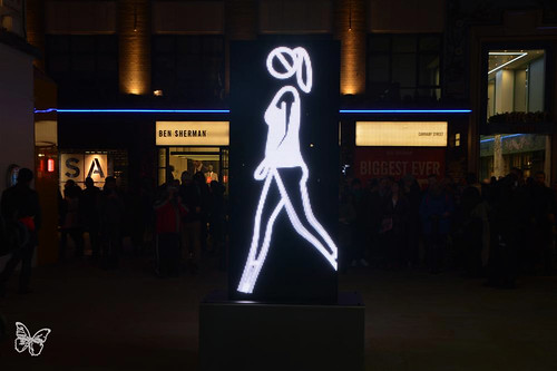 Lumiere London - Julian Opie