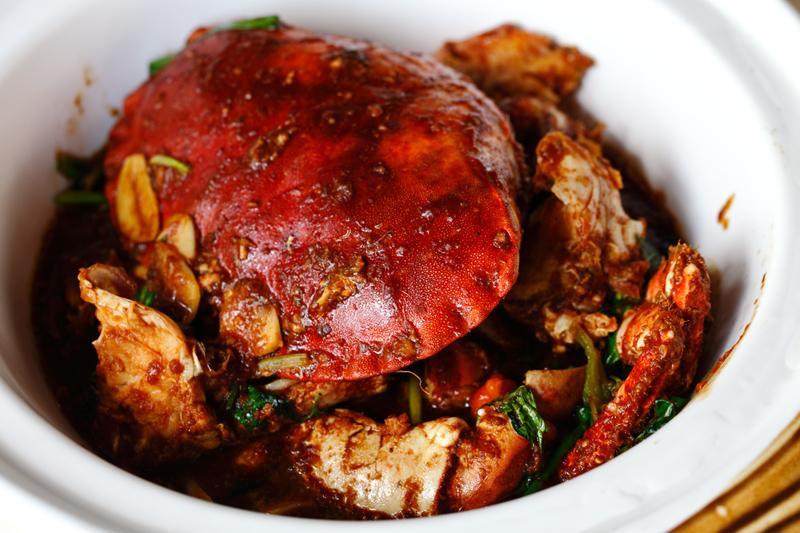 Hakak Style Fried Crab