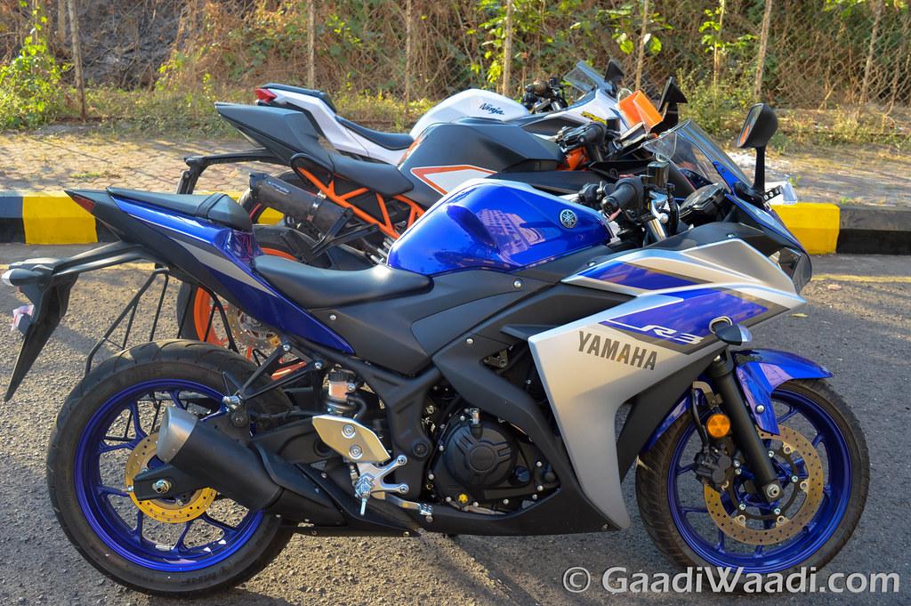 Yamaha R3 vs KTM RC390 vs Kawasaki Ninja300-9