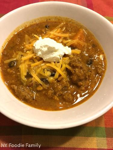 5 Ingredient Sweet Potato Chili