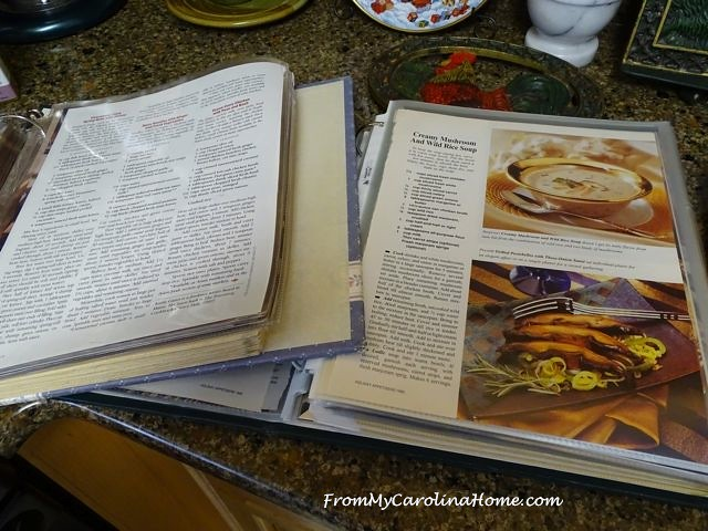 Recipe Organizing | From My Carolina Home
