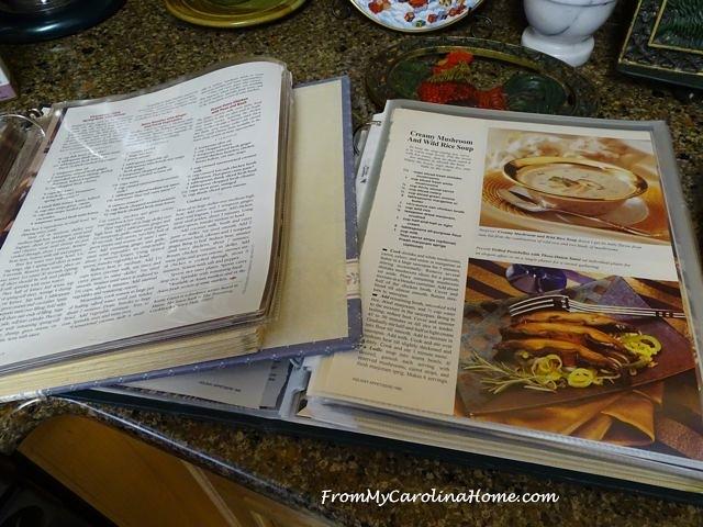 Recipe Organizing | From My Carolina Home