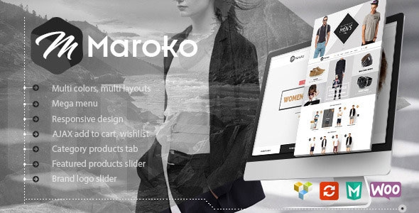 Themeforest Maroko v1.0.1 - Responsive WordPress Fashion Theme