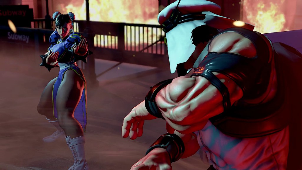 Street Fighter V on PS4