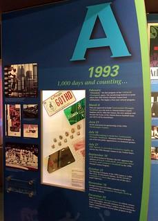 Atlanta - Atlanta History Center - Museum - 1996 Centennial Olympic Games - Timeline - 1993