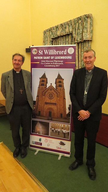 'Joint Diocesan Pilgrimage from Co. Carlow to Echternach, Luxembourg June 2017' Launched