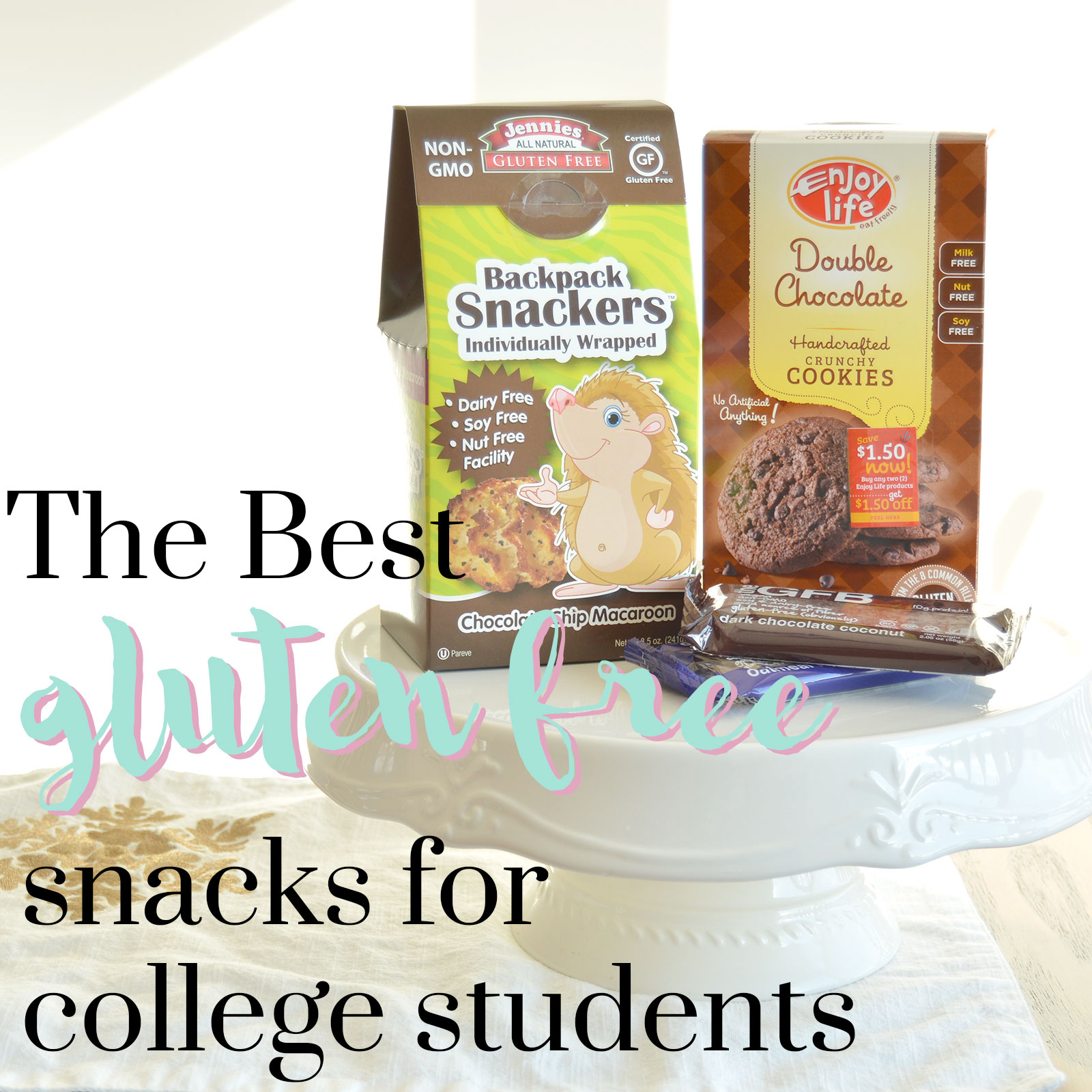 The Best Gluten Free Snacks for College Students
