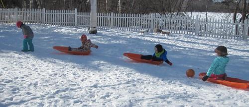 sled train