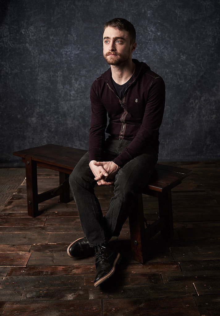Дэниел Рэдклифф — Фотосессия для «Перочинный человек» на «Sundance» 2016 – 14