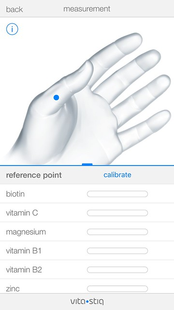 Vitastiq iOS App - Measurement