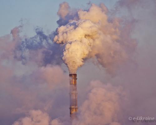 cloud plant electricity environment generation kramatorsk краматорськ дим тец екологія донецька забруднення викиди donetskaobl kramatorsjk