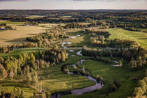3 sverige dalum swe västragötaland flygfoto