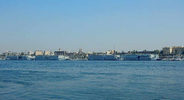 Cruise Ships in Luxor