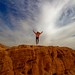 jumping - Timna-Park - Negev-desert - Israel by Lior. L