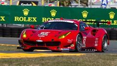 Risi Competizione Ferrari 488 GTE Rolex 24 at Daytona (practice) 2