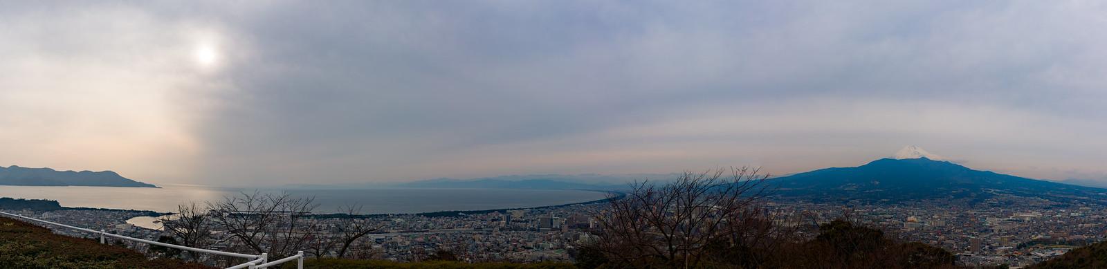富士と沼津と駿河湾