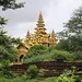 The green passageway to the Bagan Golden Palace by B℮n