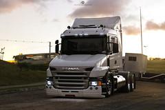 Insane Trucker Scania  in Brazil, baggs suspension!