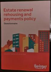 Haringey Council - estate renewal policy