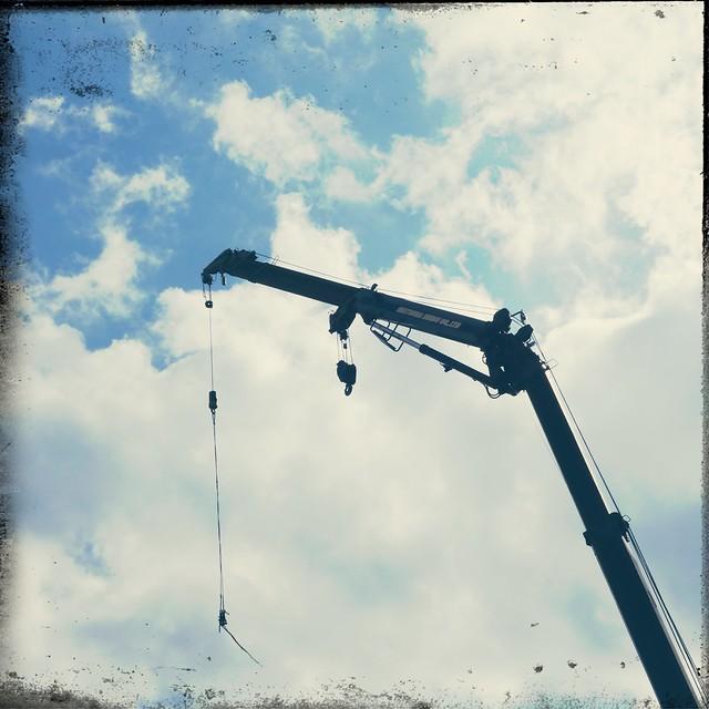 Boom of mobile crane