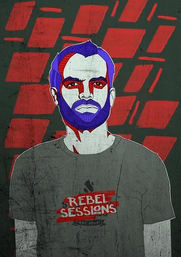Stookhoksessies posters - DJ Vigro