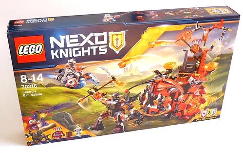 LEGO Nexo Knights 70316 Jestro's Evil Mobile box01