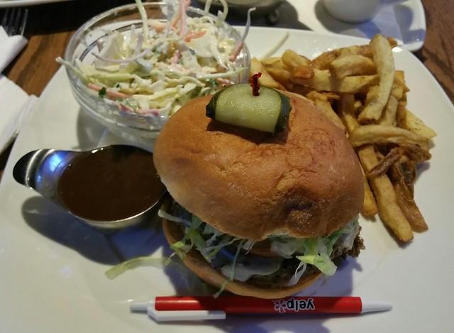 2016-Mar-1 Original Joes (Robson) - quinoa mushroom burger