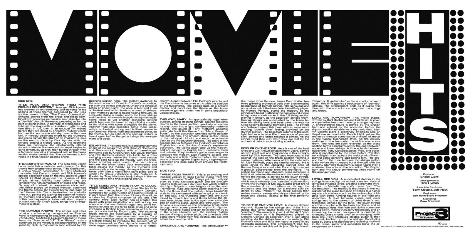 Enoch Light - Movie Hits