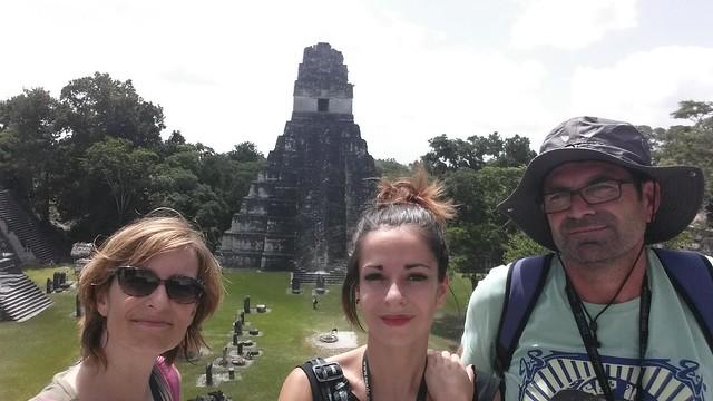 Temple del Jaguar a Tikal.