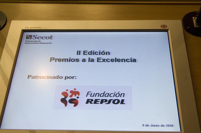 II Edición Premios a la Excelencia SECOT-Fundación Repsol