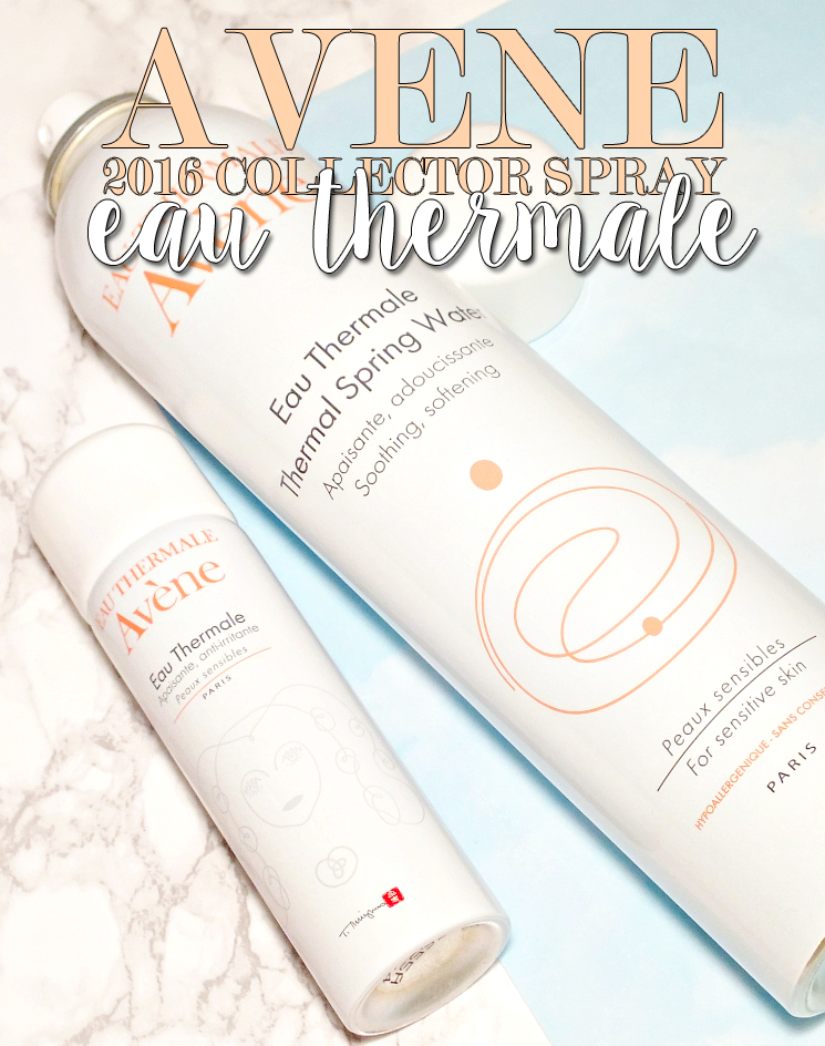 Avene eau thermale 2016 collector spray the flower woman (2)