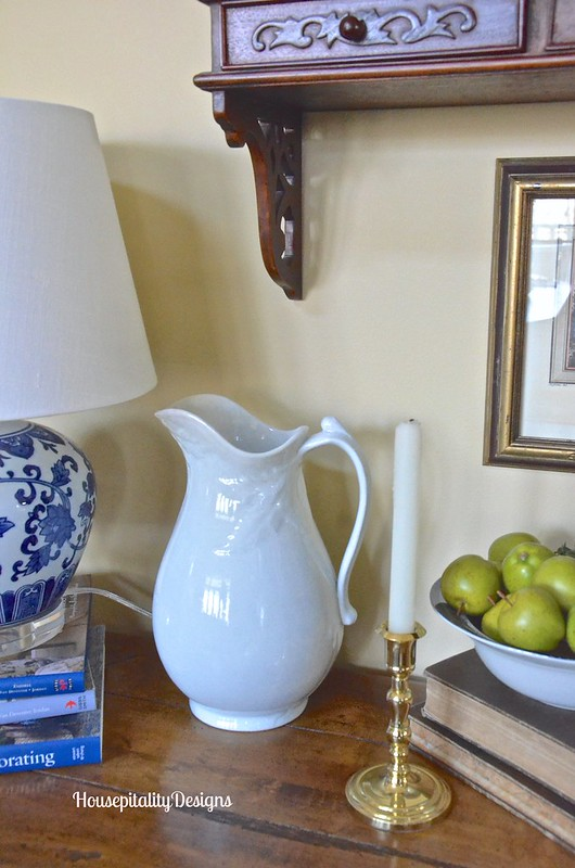 Ironstone Pitcher - Housepitality Designs