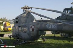 4316 - 564316105 - Polish Air Force - PZL-Swidnik Mi-2URP Hoplite - Polish Aviation Musuem - Krakow, Poland - 151010 - Steven Gray - IMG_0502