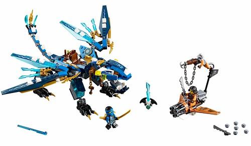 LEGO Nijago 70602 Jay's Elemental Dragon 00