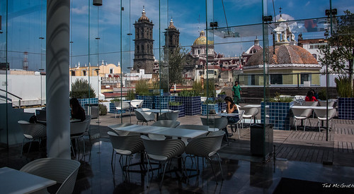 windows reflection church glass mexico bottle cafe sitting churchtower unescoworldheritagesite unesco cropped seating vignetting puebla seated amparo 2016 museoamparo onebottle churchdome pueblacathedral pueblapuebla tedsphotos amparomuseum museoamparopuebla unescoworldculturalcentre tedsphotosmexico amparocafe amparomuseumpuebla manuelespinozayglesias
