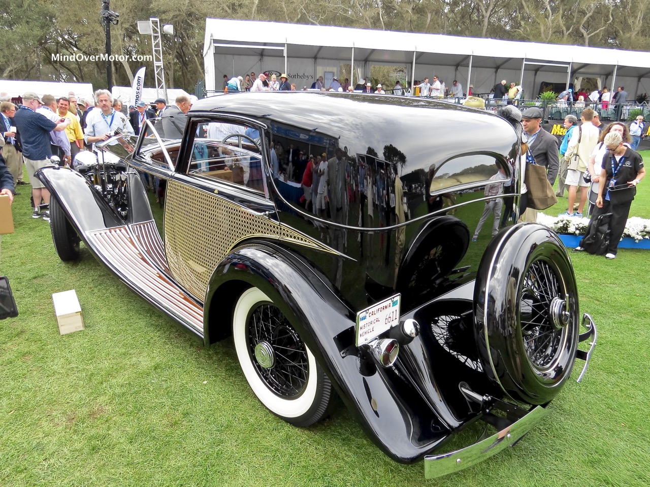1930 Rolls-Royce Phantom II Rear 1