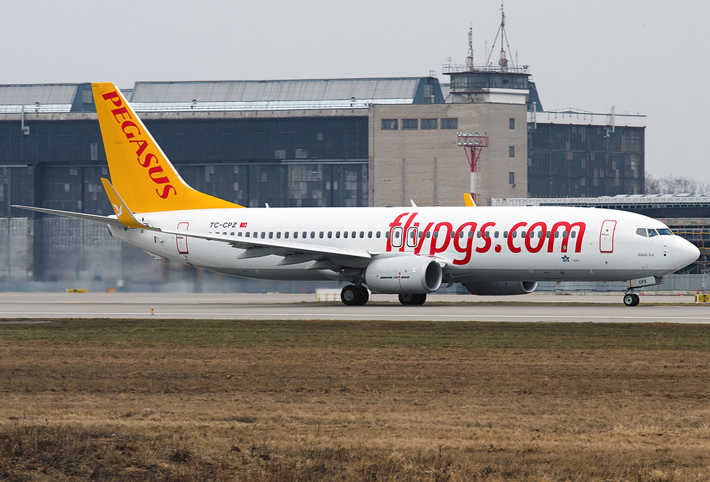 TC-CPZ - B738 - Pegasus Airlines