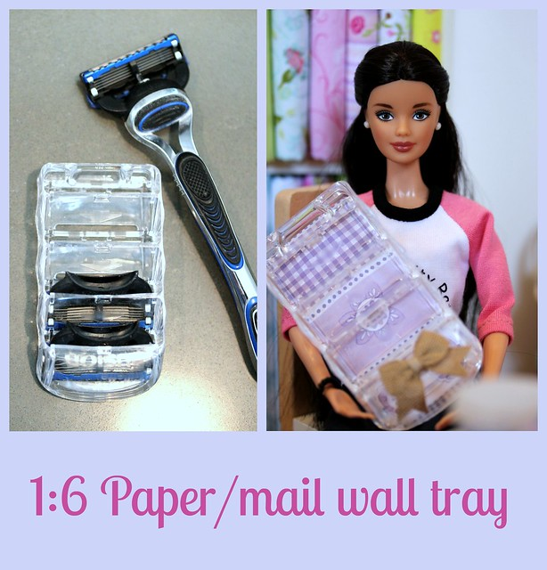 DIY doll paper tray...